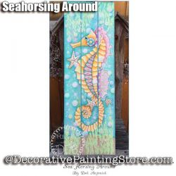 Seahorsing Around e-Pattern -Deb Antonick - PDF DOWNLOAD