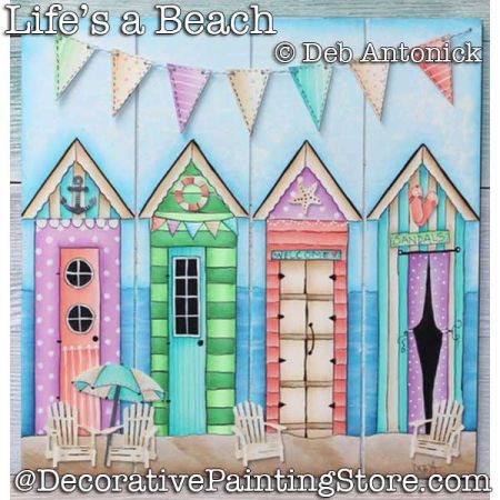 Lifes a Beach DOWNLOAD - Deb Antonick