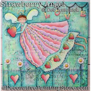 Strawberryl Angel DOWNLOAD - Deb Antonick