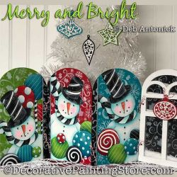 Merry and Bright Snowmen DOWNLOAD - Deb Antonick