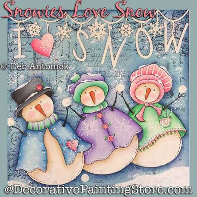 Snowies Love Snow DOWNLOAD - Deb Antonick