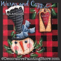 Warm and Cozy Snowman DOWNLOAD - Deb Antonick