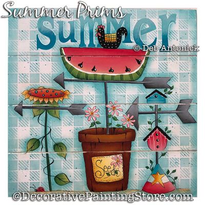 Summer Prims DOWNLOAD - Deb Antonick