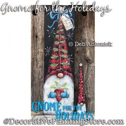 Gnome for the Holidays DOWNLOAD - Deb Antonick