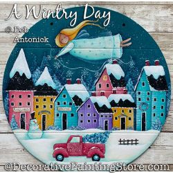 A Wintry Day (Angel - Village) DOWNLOAD - Deb Antonick