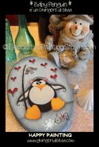 Baby Penguin Pattern - Silvia Andreoli - PDF DOWNLOAD