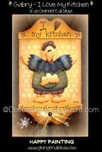 Gabry - I Love My Kitchen Pattern - Silvia Andreoli - PDF DOWNLOAD