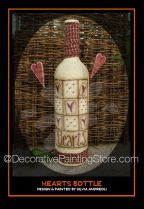 Hearts Bottle Pattern - Silvia Andreoli - PDF DOWNLOAD