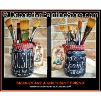 Brushes Are a Girls Best Friend by Silvia Andreoli - PDF DOWNLOAD