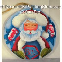 Super Claus Ornament Pattern by Ann Perz - PDF DOWNLOAD
