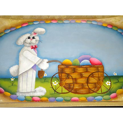 patterns for tole painting easter baskets