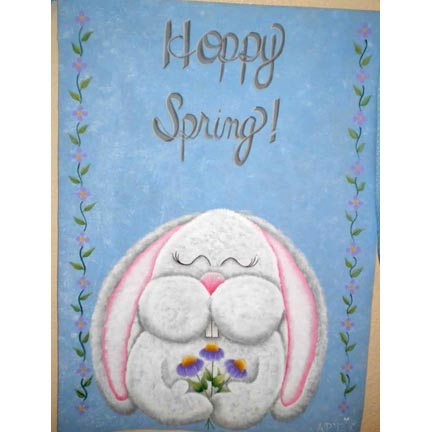 Hoppy Spring By Ann Perz - PDF DOWNLOAD