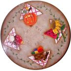 All Through the Seasons Lazy Susan By Ann Perz - PDF DOWNLOAD