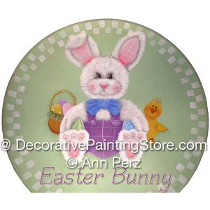 Easter Bunny Pattern by Ann Perz - PDF DOWNLOAD