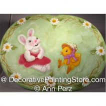 Easter Basket Lid ePattern - Ann Perz - PDF DOWNLOAD