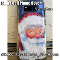 Santa Cell Phone Cover ePattern - Ann Perz - PDF DOWNLOAD