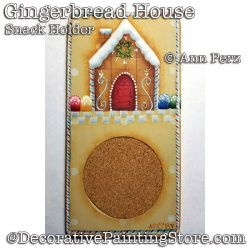 Gingerbread House Snack Holder DOWNLOAD - Ann Perz