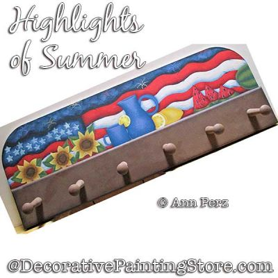 Highlights of Summer ePattern - Ann Perz - PDF DOWNLOAD