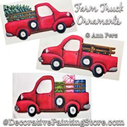Farm Truck Ornaments Painting Pattern PDF DOWNLOAD - Ann Perz