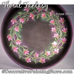 Floral Fantasy Painting Pattern  PDF DOWNLOAD - Ann Perz