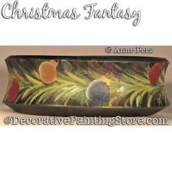 Christmas Fantasy Painting Pattern  PDF DOWNLOAD - Ann Perz