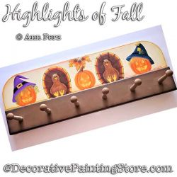 Highlights of Fall Painting Pattern  PDF DOWNLOAD - Ann Perz