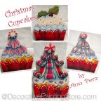 Christmas Cupcakes Ornaments Pattern by Ann Perz - PDF DOWNLOAD