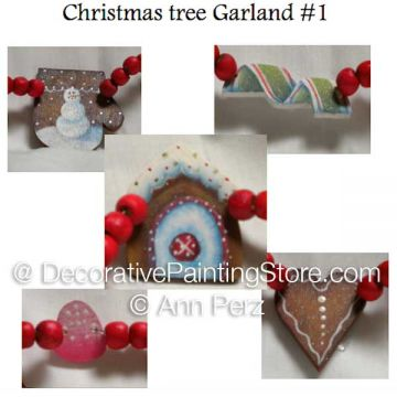 Christmas Tree Garland 1 Pattern by Ann Perz - PDF DOWNLOAD