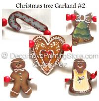 Christmas Tree Garland 2 Pattern by Ann Perz - PDF DOWNLOAD