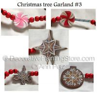 Christmas Tree Garland 3 Pattern by Ann Perz - PDF DOWNLOAD