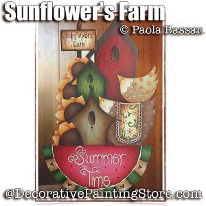 Sunflowers Farm - Paola Bassan - PDF DOWNLOAD
