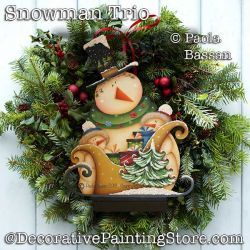 Triple Snowman DOWNLOAD - Paola Bassan
