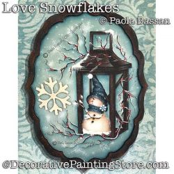 Love Snowflakes - Paola Bassan - PDF DOWNLOAD