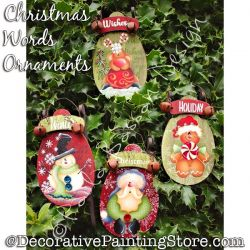 Christmas Words Ornaments - Paola Bassan - PDF DOWNLOAD