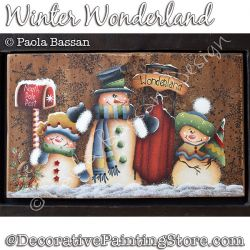 Winter Wonderland (Snowman) - Paola Bassan - PDF DOWNLOAD
