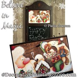 Believe in Magic (Santa) - Paola Bassan - PDF DOWNLOAD