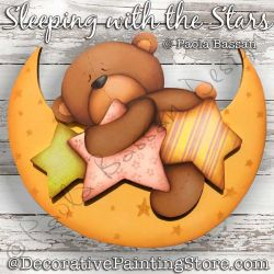 Sleeping with the Stars Painting Pattern PDF Download - Paola Bassan