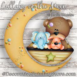 Lullaby on the Moon Painting Pattern PDF Download - Paola Bassan