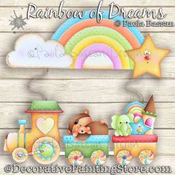 Rainbow of Dreams Painting Pattern PDF Download - Paola Bassan