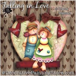Falling in Love Painting Pattern PDF Download - Paola Bassan