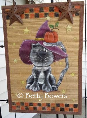 Fall Cat Wall Hanging DOWNLOAD
