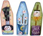 Three Mini Ironing Board Snowmen Ornaments e-Pattern DOWNLOAD