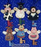 Barn Angels Chubby Key Ornaments Pattern - Betty Bowers - PDF DOWNLOAD