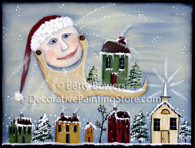 Moon Santa Pattern BY DOWNLOAD