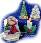 Four Frosty Winter Tissue Holder Inserts Pattern BY DOWNLOAD