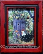 Chicken Outhouse Pattern - Betty Bowers - BY DOWNLOAD