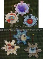 Bird and Sheep Snowflakes ePattern - Betty Bowers - PDF DOWNLOAD
