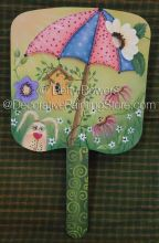 April Showers Fan ePattern - Betty Bowers - PDF DOWNLOAD
