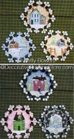 Snow Town Ornaments ePattern - Betty Bowers - PDF DOWNLOAD