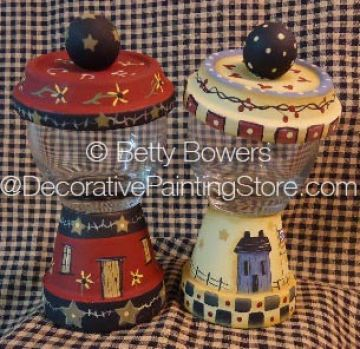 Mini Candy Dispensers - Betty Bowers - PDF DOWNLOAD